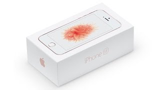 iPhone SE - распаковка, первый взгляд и вообще зачем?