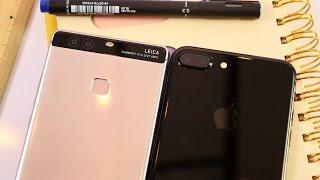 ស្វែងយល់បន្ថែមពីកាម៉េរ៉ាភ្លោះ P9 Plus និង iPhone 7 Plus (John Sey) 4K