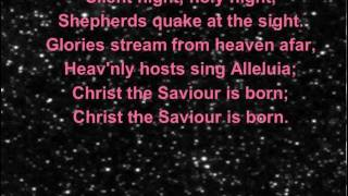 This is my own rendition of silent night for you to sing along to! ideal your in churches and schools who don't have someone play the music them.