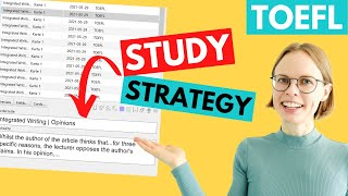 TOEFL Integrated Task Template - How to Memorize It - Step 1