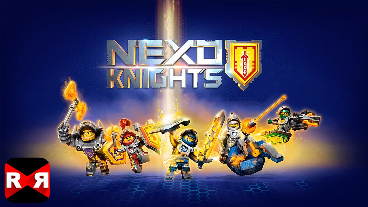 It is a graphic of Priceless Nexo Knights Images
