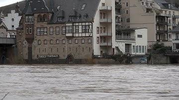 Mosel Hochwasser 2020