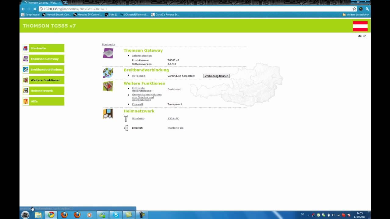 thomson tg585v7 firmware free 14