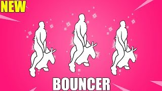 FORTNITE BOUNCER EMOTE (w/LEAKED SKINS)