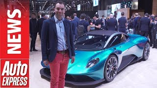 Aston Martin 003 and Vanquish Vision – Aston'smid-engined supercars