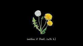 gnash - imagine if ft. ruth b. lyric video