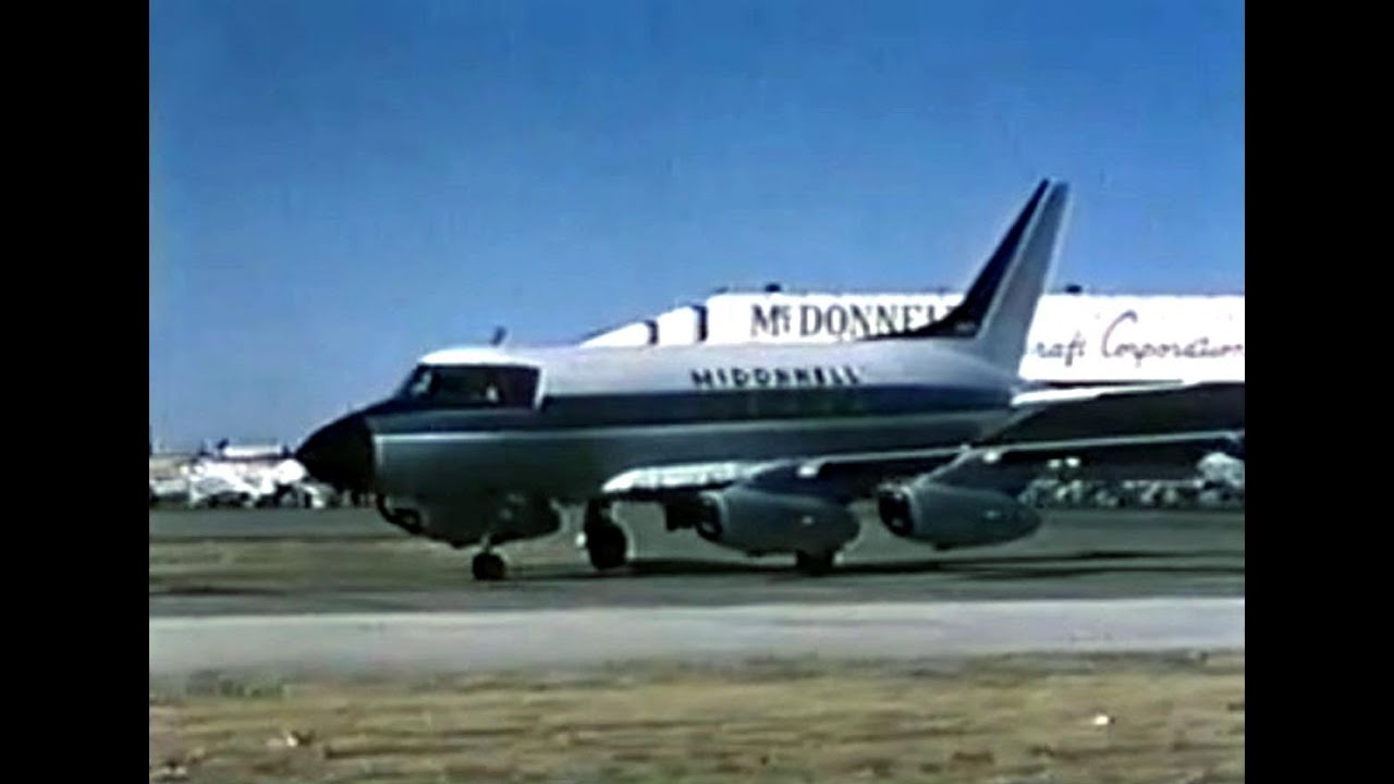 McDonnell 220 Business Jet Promo Film - 1959 - YouTube