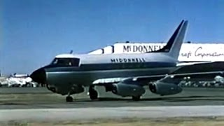 McDonnell 220 Business Jet Promo Film - 1963