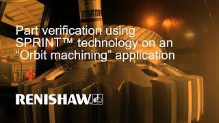 Part verification using SPRINT™ 3D scanning technology