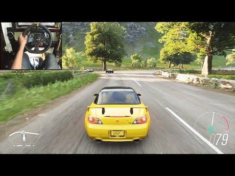Honda S2000 - Forza Horizon 4 | Logitech g29 gameplay thumbnail