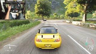 Honda S2000 - Forza Horizon 4 | Logitech g29 gameplay