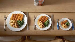 Как регулировать размер порции при составлении меню