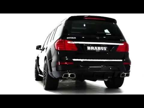 Тюнинг Mercedes Benz GL 63 BRABUS