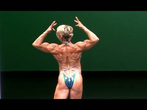 Kathy Unger Female Bodybuilder at New York Pro 2013 Women's Physique Category