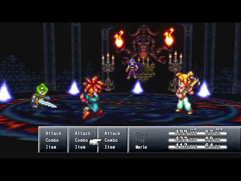 Chrono Trigger - Magus Battle