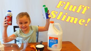 How To Make Fluff Slime!