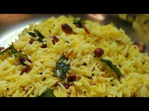 how-to-make-lemon-rice-|-south-indian-food-recipes