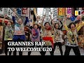 Japanese granny-group releases rap song to welcome G20 to Osaka