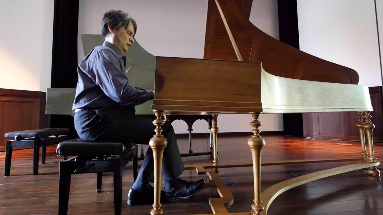 Genzoh Takehisa Plasys Bachs Chromatische Fantasie Und Fuge D Moll BWV903 On A Silbermann Piano