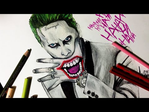 speed-drawing:-jared-leto-joker-from-suicide-squad