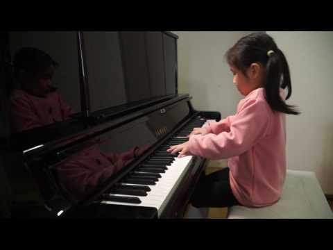 Anke Chen_Age 6_Plays Chopin 'Minute Waltz' in D flat major, Op. 64, No. 1