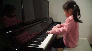 Anke Chen_Age 6_Plays Chopin 'Minute Waltz' in D flat major, Op. 64, No. 1