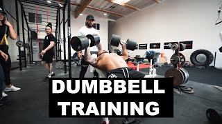 Dumbbell Training   Body Building Workout
