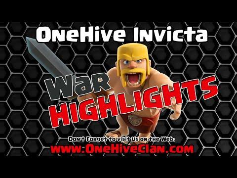 OneHive Invicta VS IRAQ Champions WAR Recap | Clash of Clans
