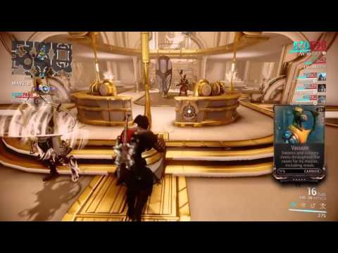 Warframe Fusion Core Farming Gameplay
