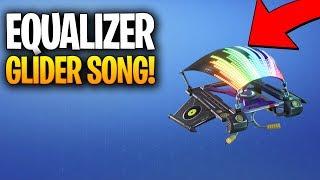 FORTNITE EQUALIZER SONG! EQUALIZER NEW GLIDER IN FORTNITE!