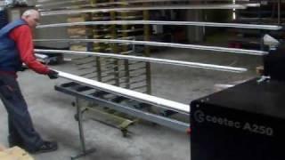 Ceetec A250 - maszyna lakierująca do drewna - malowanie