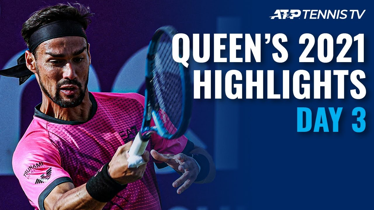 Fognini faces Cilic; Draper and Norrie Take to the Grass | Queen's 2021 Highlights Day 3