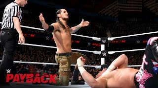 Baixar - Dolph Ziggler Vs Baron Corbin Wwe Payback 2016 Kickoff Match On Wwe Network Grátis