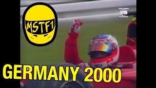 2000 German Grand Prix – Mystery Science Theater F1
