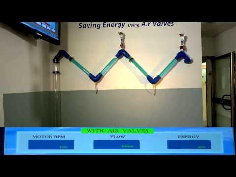 管線高點裝設釋氣閥的功用