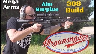 Mega Arms AR-10 Rifle Build From Aim Surplus Review (10)