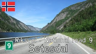 Norway: Rv. 9 through Setesdal