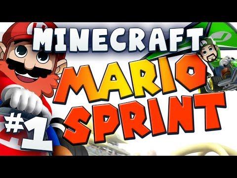 Minecraft Mario Sprint Part 1 - It's-a Me