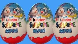 8 Kinder Surprise eggs unboxing | Kinder Surprise Maxi Spongebob Hello Kitty and Paw Patrol