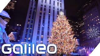 So wird New York zum Weihnachtsparadies | Galileo | ProSieben
