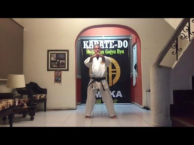 09 Clase de Karate Meibukan Sudamérica 明武舘 剛柔流 空手道