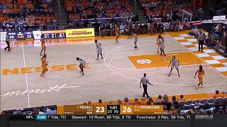 Texas vs Tennessee Women's Basketball Highlights