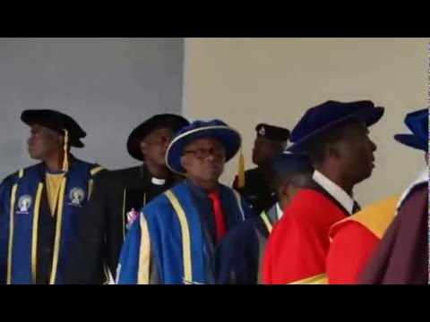 Convocation Ceremony for Admission to First degrees and Presentation of Prizes 1
