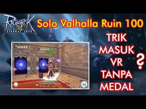 Nyobain Solo Valhalla Ruins 100.. Ketemu Apaan ya? Ragnarok Mobile Eternal Love