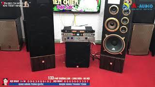 Dàn Karaoke gia đình Loa Cây JBL G4000 cực hay, đẹp tuyệt vời lên đường về với anh Cường-Đắc Lắc.