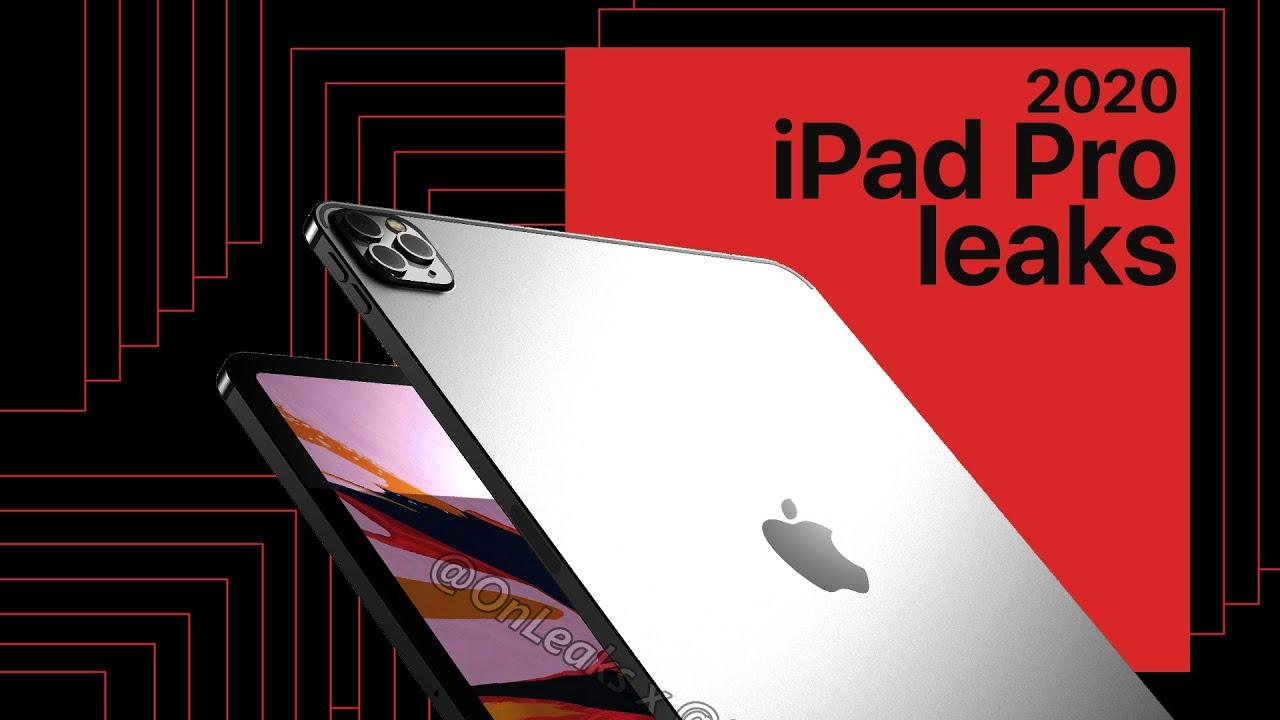 2020 iPad Pro Leaks: Exclusive 360 Renders