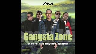 Gangsta Zone Remix - Daddy Yankee, Myke Towers, De la Ghetto & Plan B