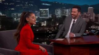 Ariana talks about nona | jimmy kimmel