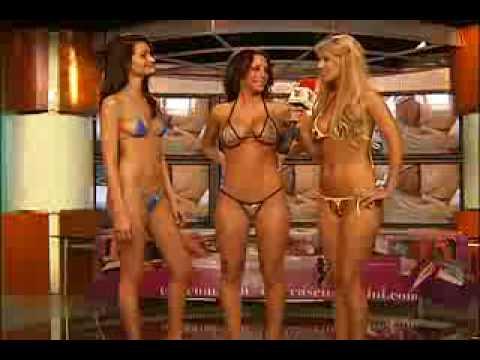 Aneliese Roettger wearing Tease Um Bikini in Al Extremo TV Azteca