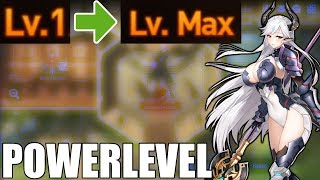 How To Powerlevel Epic Seven Best Exp Energy Stages Youtube